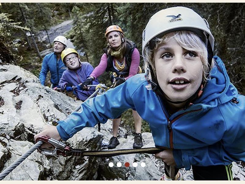 Zusatzangebot Klettersteig
