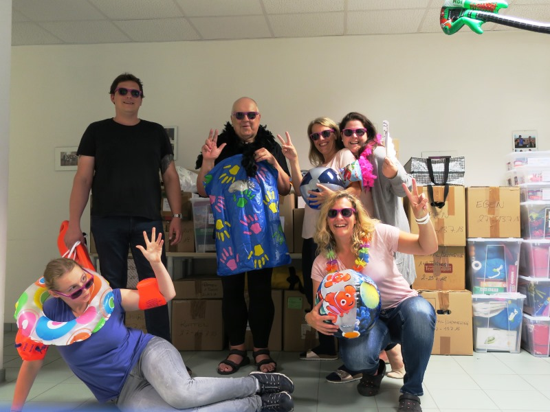 WIJUG-Team in Sommerlaune