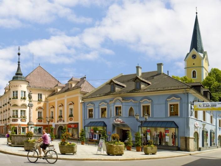 Oberösterreich - Windischgarsten, Marktplatz © TVB Pyhrn-Priel Sulzbacher
